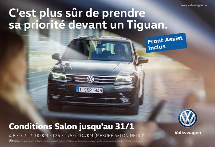Même ceux qui ne roulent pas en Volkswagen profitent de la sécurité Volkswagen.