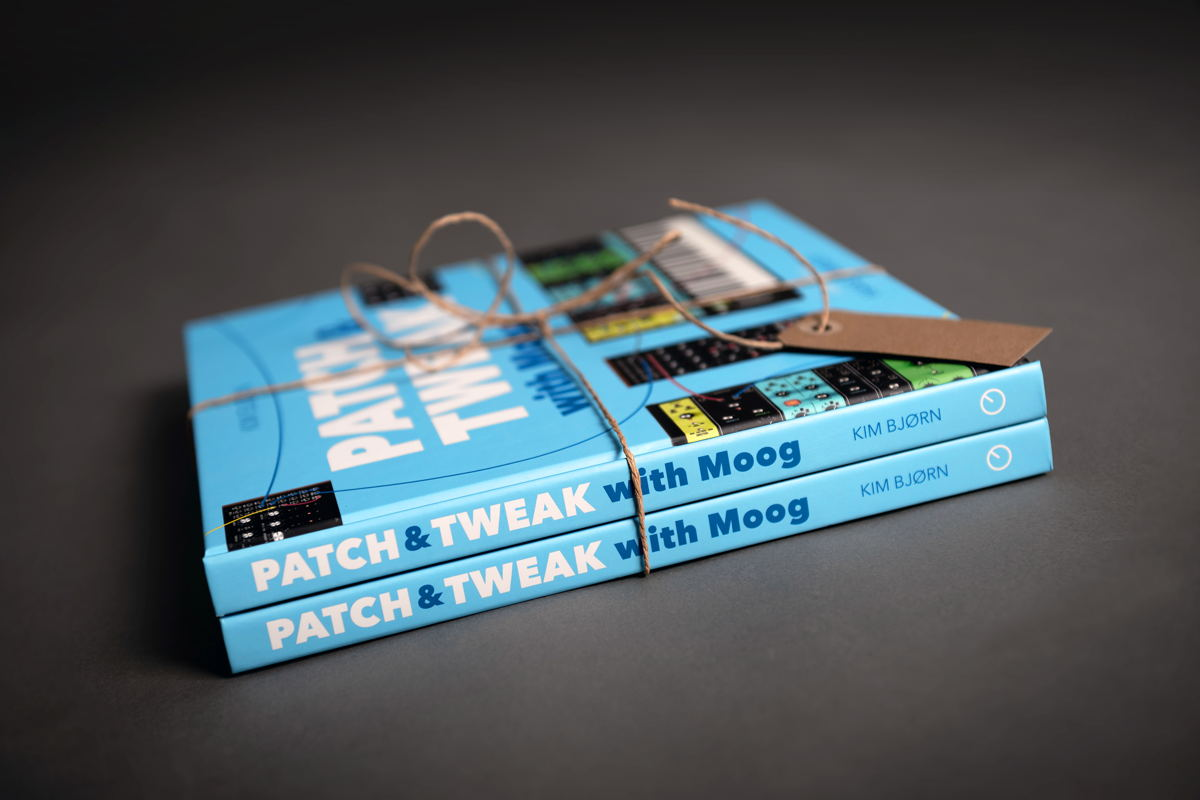 PATCH & TWEAK with Moog features 200 pages, providing the ultimate reference guide for both aspiring and advanced synthesists.