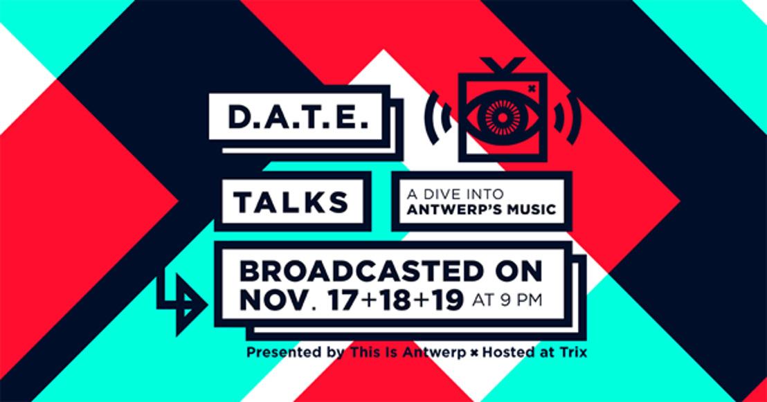 This is Antwerp présente D.A.T.E., jeudi 19 novembre