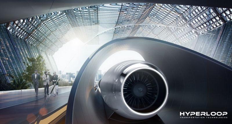 Hyperloop TT Capsule