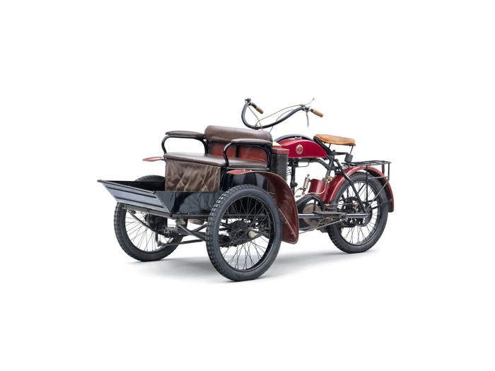 Lesser-known models from ŠKODA AUTO's 125-year history: The LW three-wheeler from Laurin & Klement