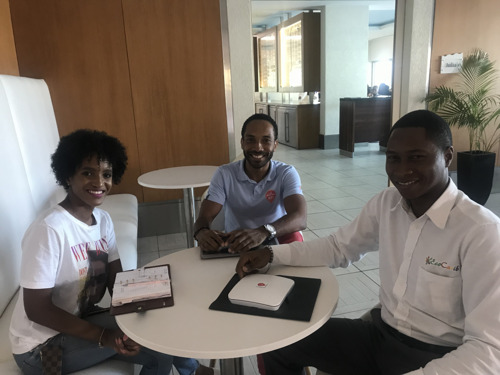 Martinique Based Company airZoon Launches Wi-Fi advertising platform in Saint Lucia as part of the INTERREG TEECA Project