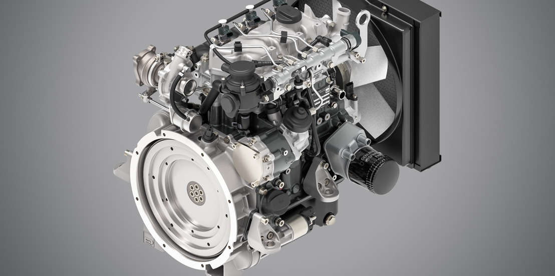 Produktionsstart eines neuen Kraftpaktes: Der Hatz 3H50T
