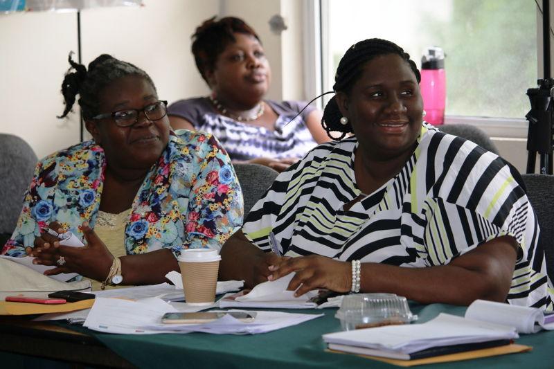 Participants at Grenada Training.