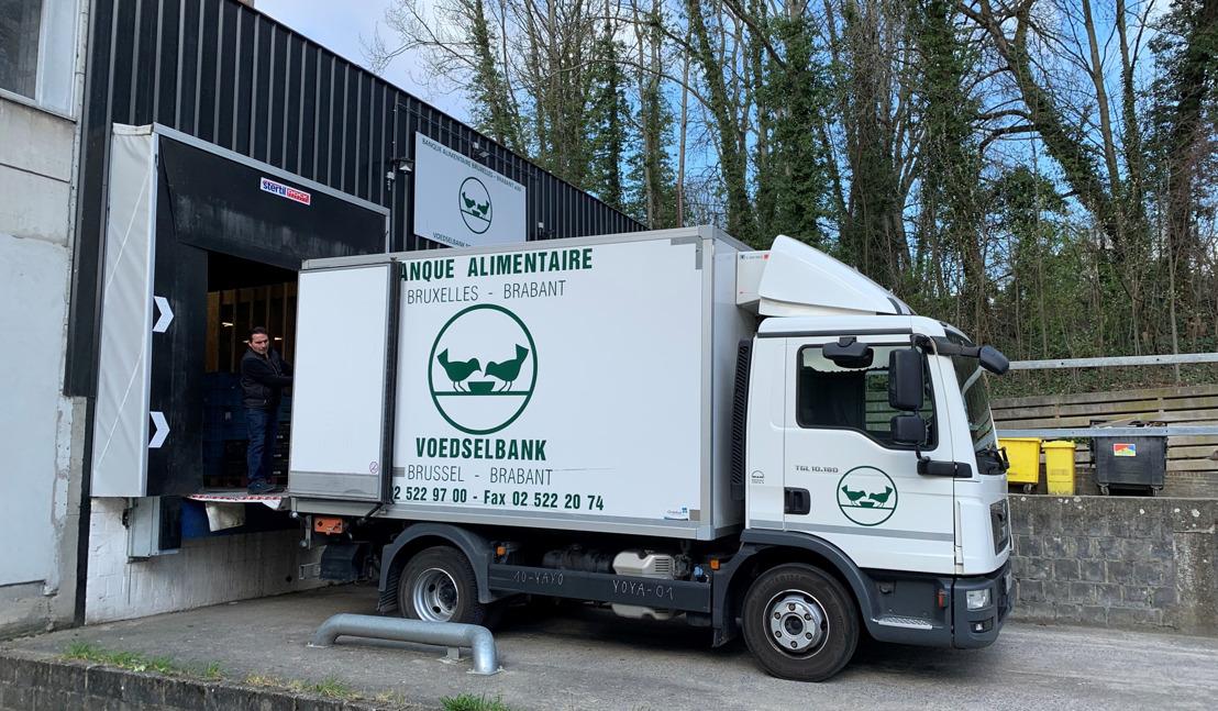 De Voedselbank Brussel-Brabant verdeelt jaarlijks meer dan 4800 ton voedsel, maar wie rijdt dat rond?
