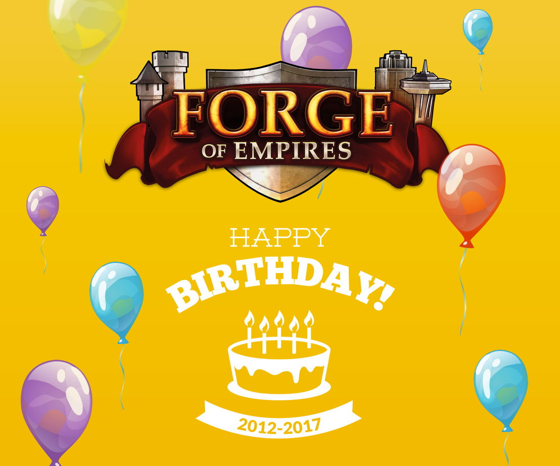 Forge of Empires Geburtstag