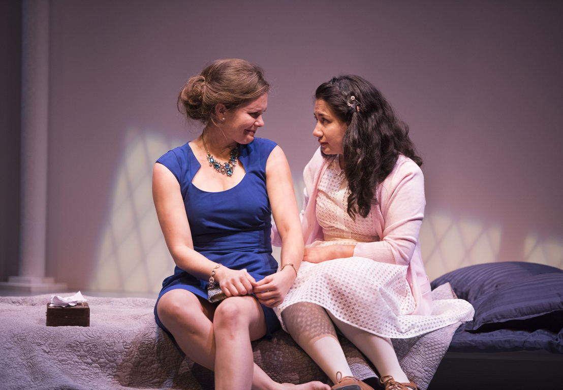 Celine Stubel and Mahalia Golnosh Tahririha in The Last Wife by Kate Hennig / Photos by Emily Cooper