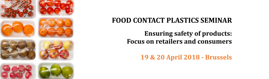 Food Contact Plastics Seminar 2018 - The programme is now available