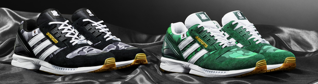 adidas Originals, BAPE, y UNDEFEATED se reúnen para intervenir la silueta ZX 8000 y crear -B is for Bape x UNDFTD-