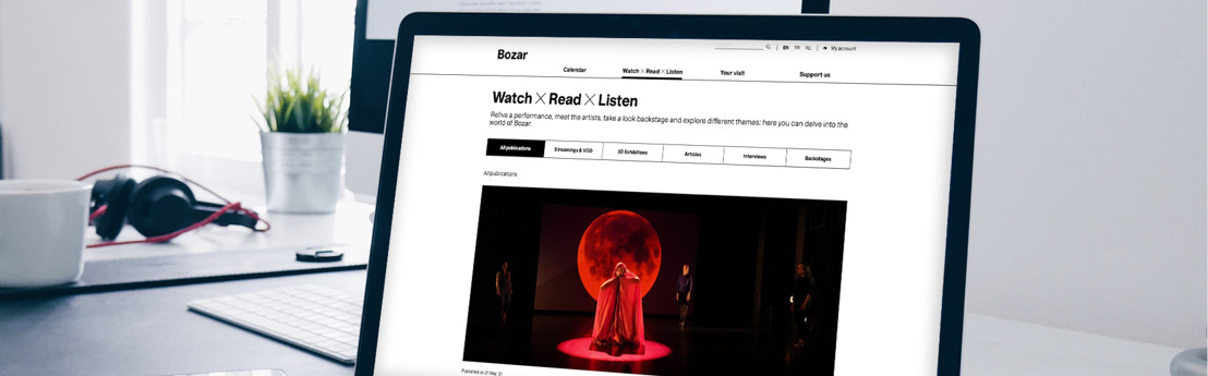 Bozar launches its new website with Emakina