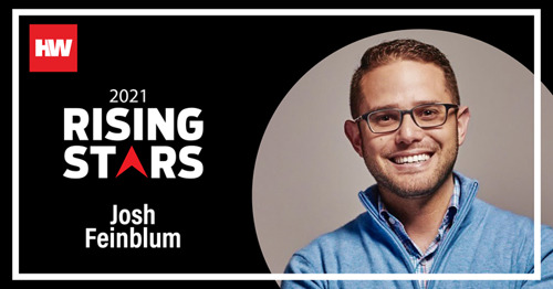Stavvy Co-Founder Josh Feinblum Named a 2021 HousingWire Rising Star