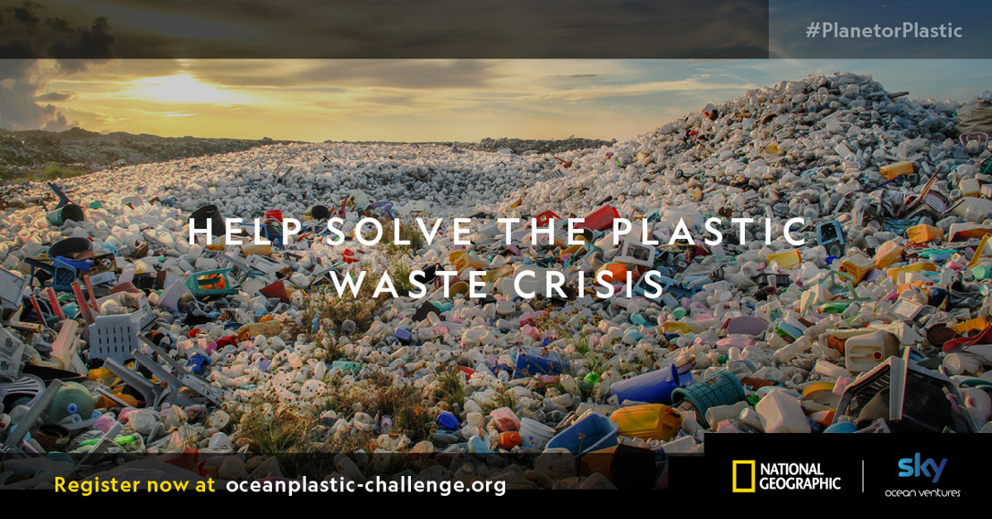 National Geographic and Sky Ocean Ventures launch global search for alternatives to single-use plastics