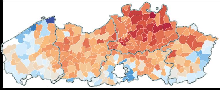 De Slimste Mens ter Wereld is in heel Vlaanderen druk bekeken, maar Antwerpen schiet er bovenuit