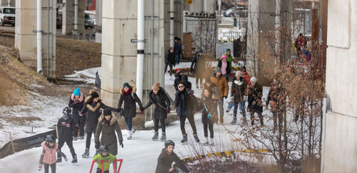 CANADIAN FIGURE SKATING CHAMPS SKATE THE EIGHT AT THE BENTWAY FEBRUARY 22, 2020
