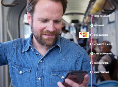 Prophets et la STIB mettent une nouvelle app sur les rails.