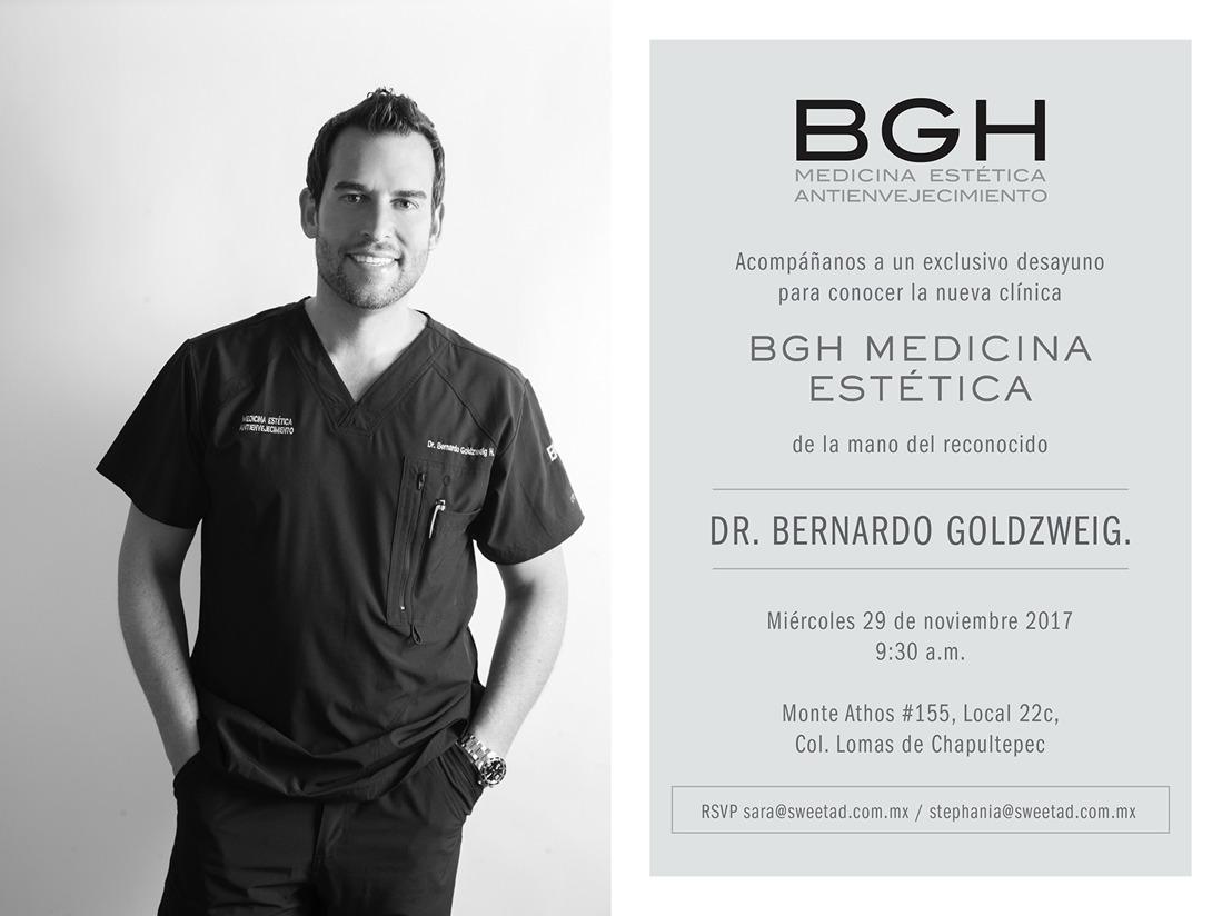 Invitación :: Acompáñanos a conocer la nueva clínica BGH Medicina Estética