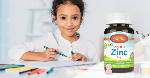Carlson Introduces Kid's Chewable Zinc to Support Healthy Immune Function