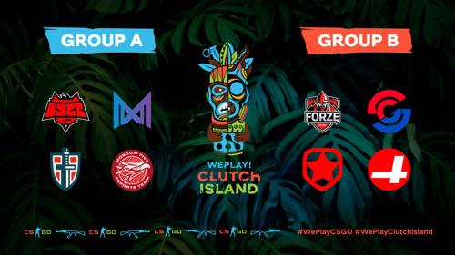 Расписание первого этапа WePlay! Clutch Island