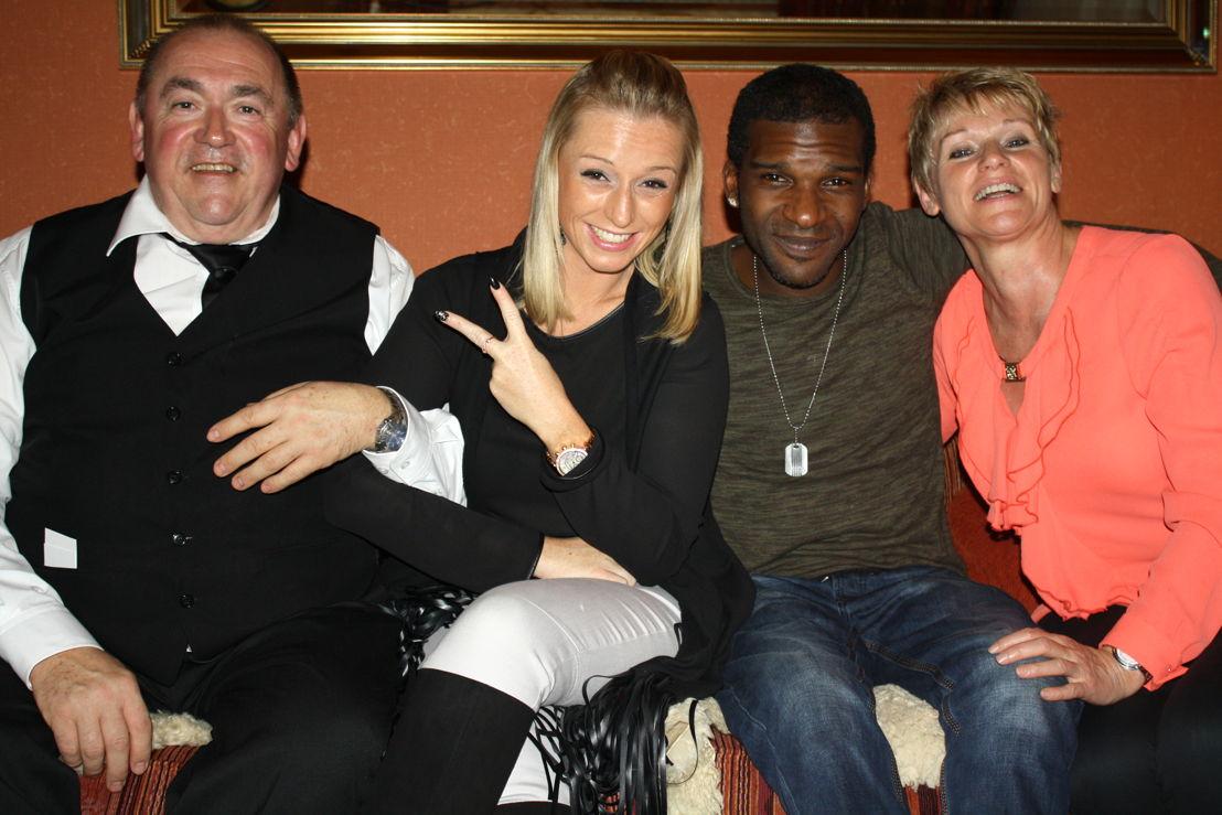 Dirk, Sylvie, Anthony en Caroline