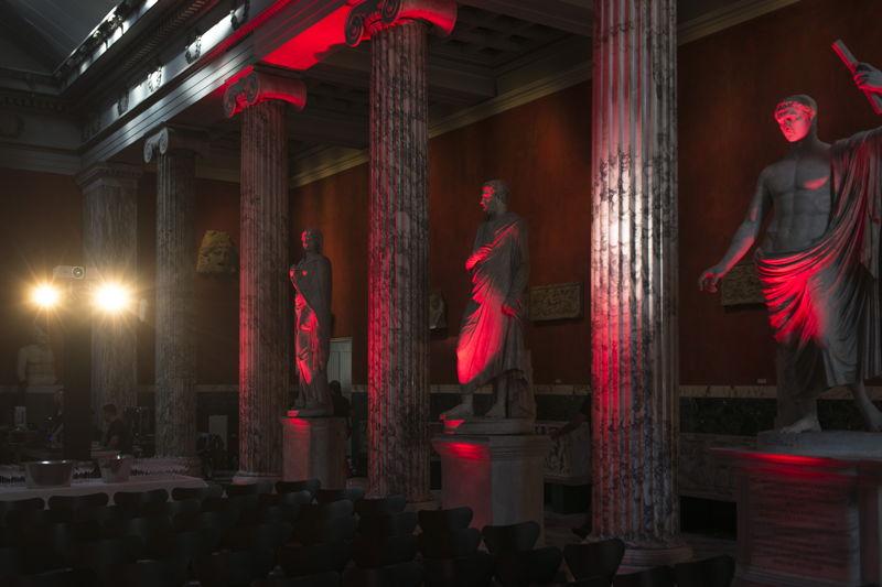 TEDxCopenhagen event in Ny Carlsberg Glyptotek