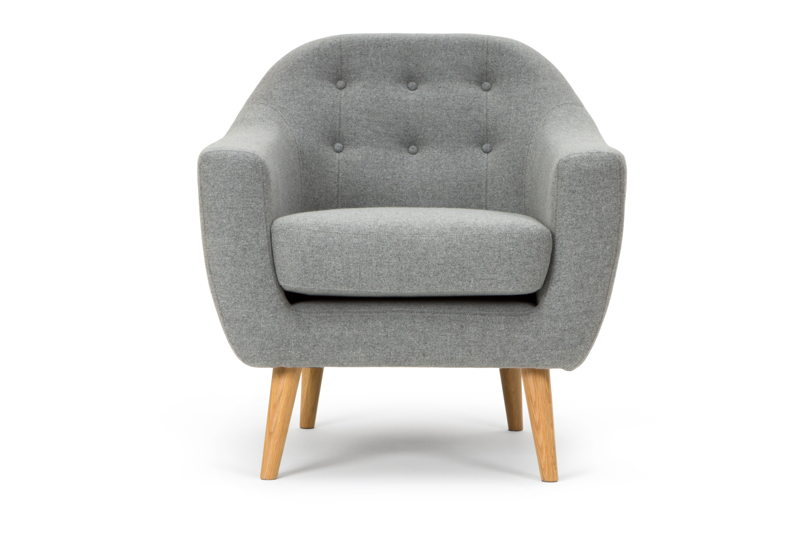 Thea chair - Andie Light Grey.
