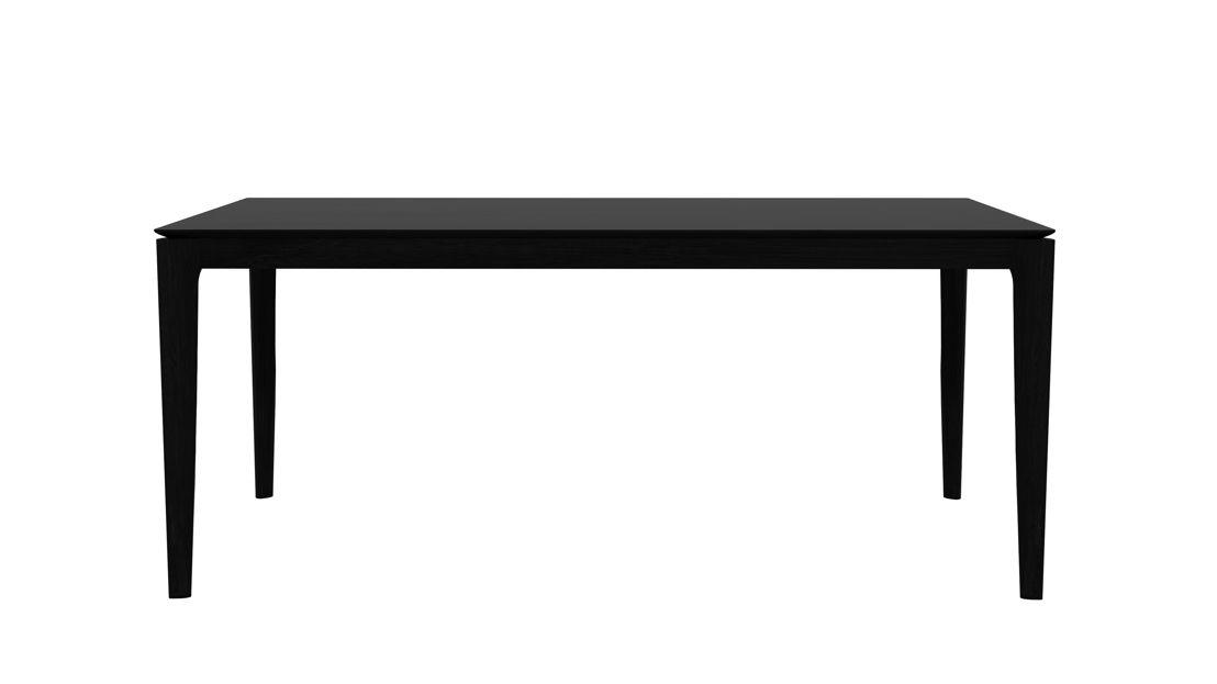 Ethnicraft Oak Bok dining table in Black