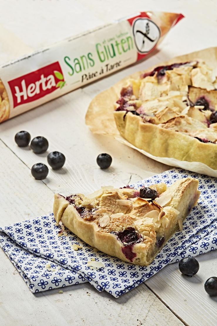 Herta - Tarte Pommes Myrtilles