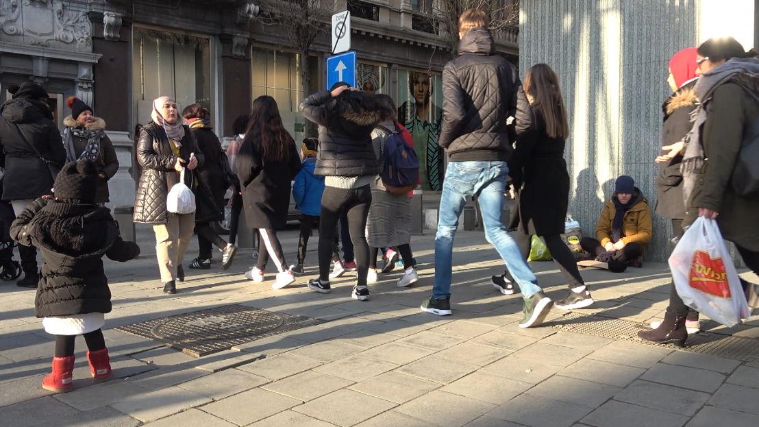 Op straat (c) VRT