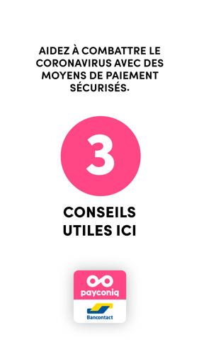 Bancontact Payconiq Company et Boondoggle sensibilisent : payez en toute sûreté avec Bancontact et Payconiq by Bancontact.