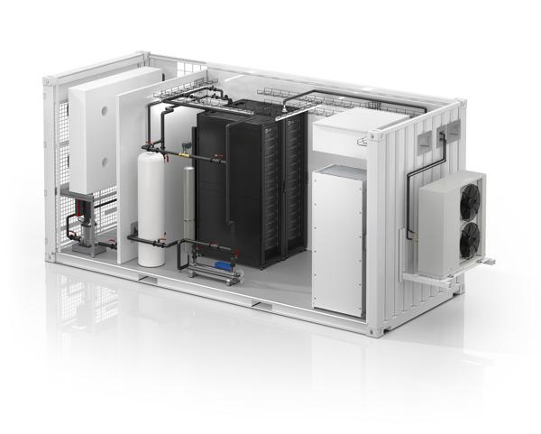 Preview: Schneider Electric lanceert het eerste alles-in-één vloeistofgekoelde modulaire datacenter