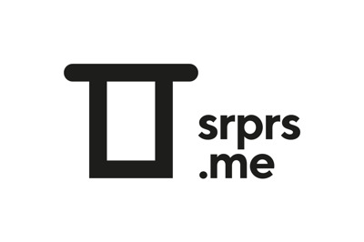 srprs.me press room Logo