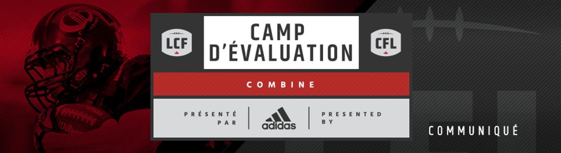 La LCF invite huit joueurs du camp d'évaluation régional de Toronto à son camp d'évaluation national, présenté par adidas