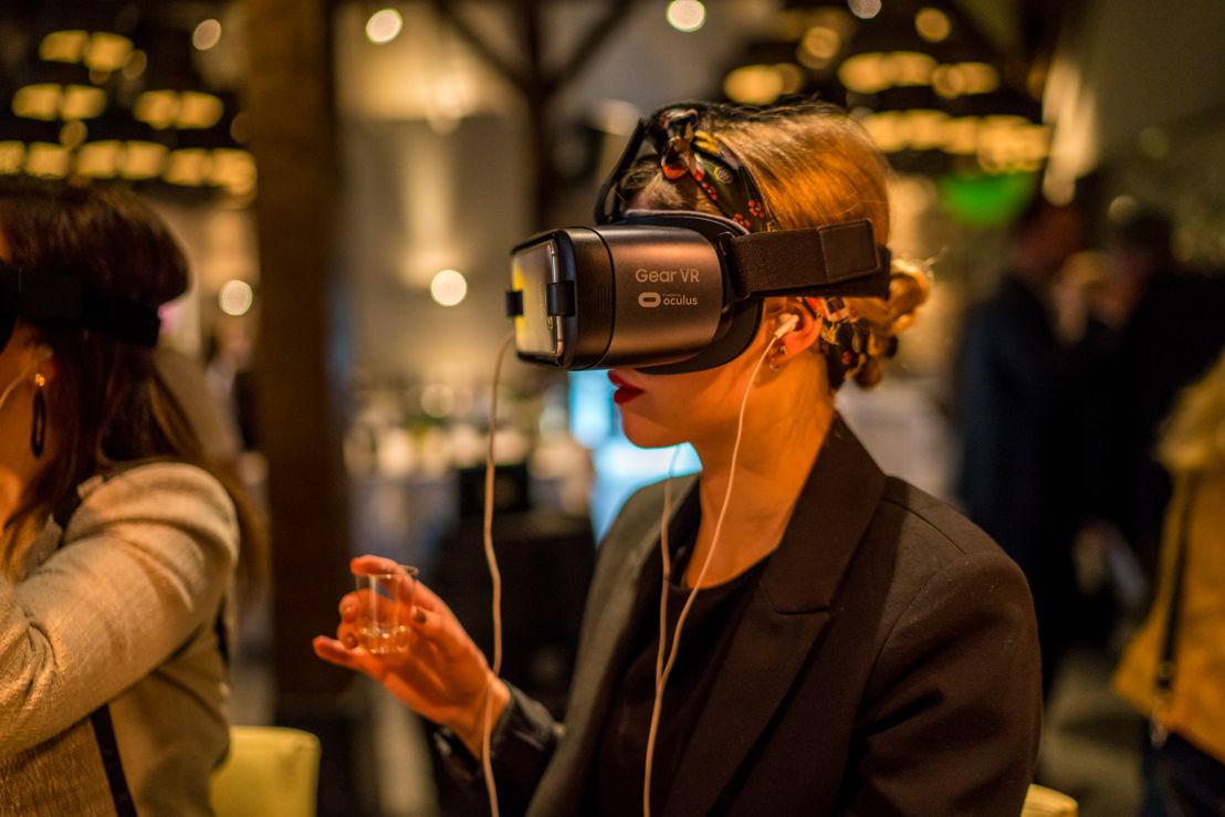 Virtual reality wine tasting