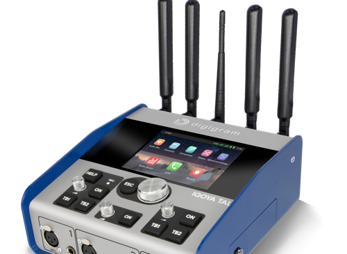 NAB Show NY: Digigram Officially Debuts IQOYA TALK IP Portable Codec, Simplifies Remote Broadcasting