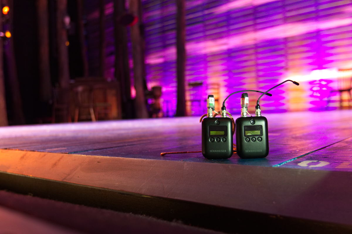 The SK 6212 takes centre stage at the Phoenix Theatre. The digital mini-bodypack transmitter is as small as a matchbox at only 63 x 47 x 20mm, and weighs just 112g