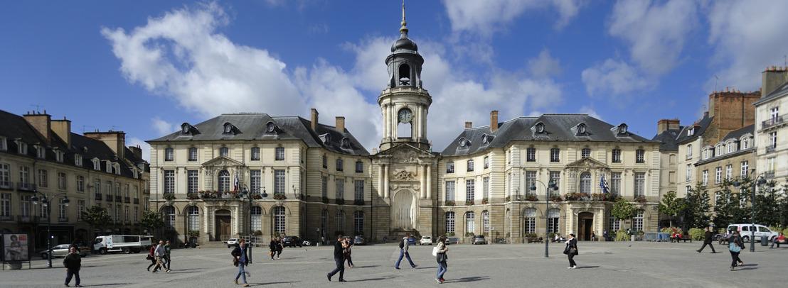 La Bretagne se rapproche de la Belgique