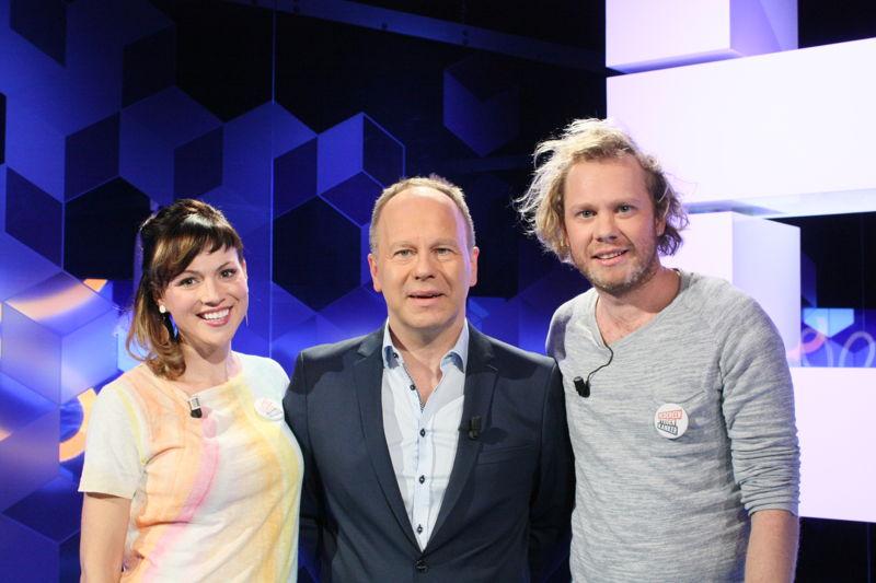 Erika Van Tielen en Rik Verheye in Blokken op vrijdag 21 april (c) VRT