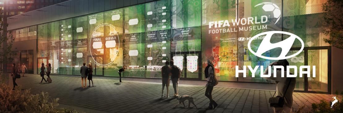 Hyundai llevará el Museo Mundial del Futbol de la FIFA a Moscú para la Copa Mundial de la FIFA Rusia 2018™