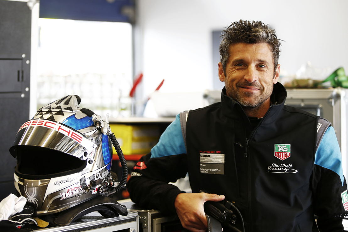 Patrick Dempsey (USA), guest driver in Spa