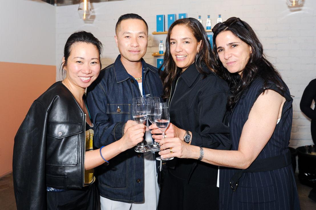 Wen Zhou, Phillip Lim, Bertha González Nieves y Mishele Wells