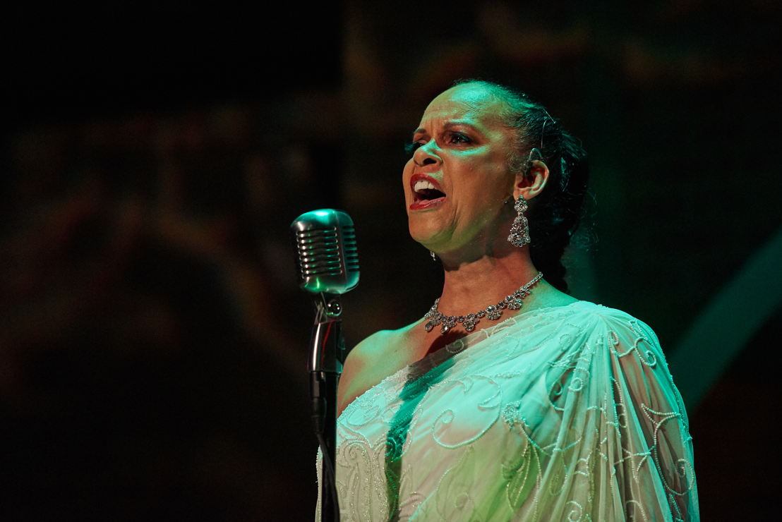 6. Terry Burrell (Billie Holiday) in LADY DAY (photo by Christopher Bartelski)