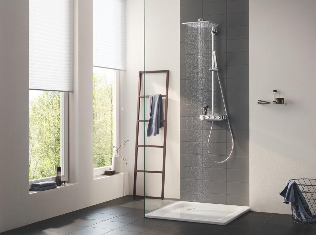 De juiste mix voor elke douche-ervaring: dankzij GROHE's douchesystemen
