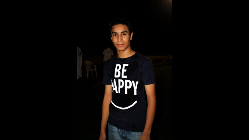 Ali Nimr was arrested at age 17 then sentenced to death by beheading for his role in street protests