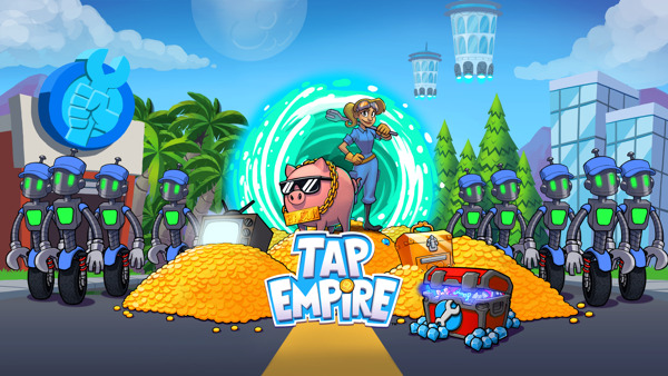 Preview: Bring home the bacon in Tap Empire – available now on the App Store and Google Play!