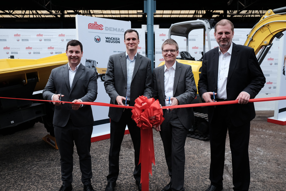 MHE-Demag Launches Compact Construction Equipment in The Philippines