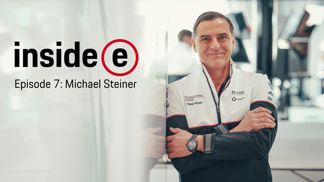 """Inside E"" podcast with Porsche Member of the Executive Board, Research and Development"