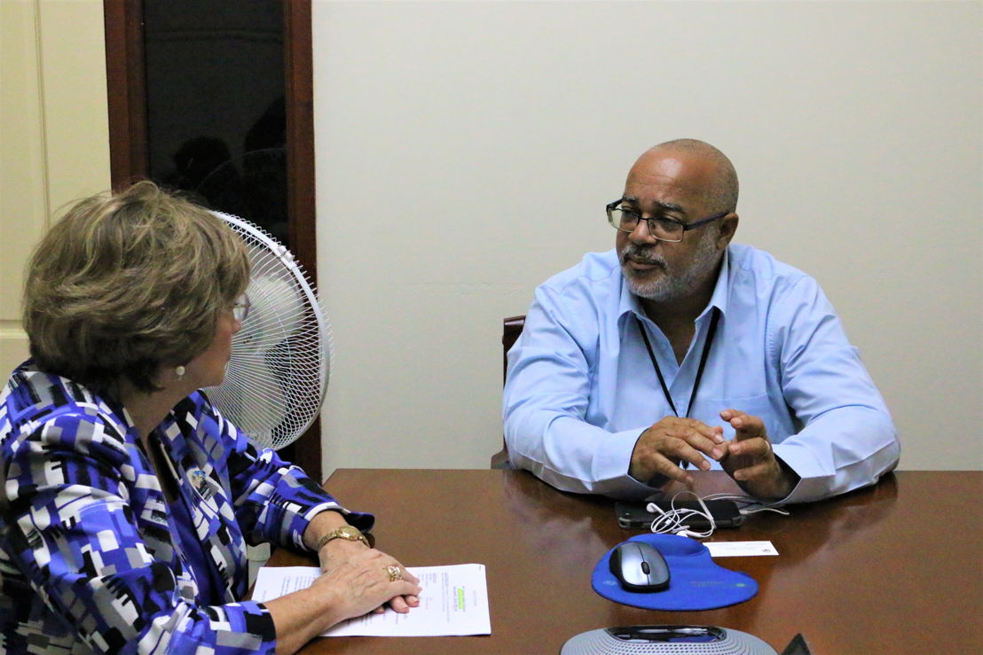 United States Ambassador to the Organisation of Eastern Caribbean States (OECS) H.E. Linda Taglialatela and Director General of the OECS Commission Dr. Didacus Jules