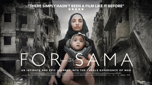 For Sama – Met camera en kind in de Syrische burgeroorlog