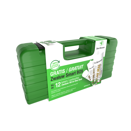 100% gerecycleerde Zwaluw Smart BOX spaart milieu
