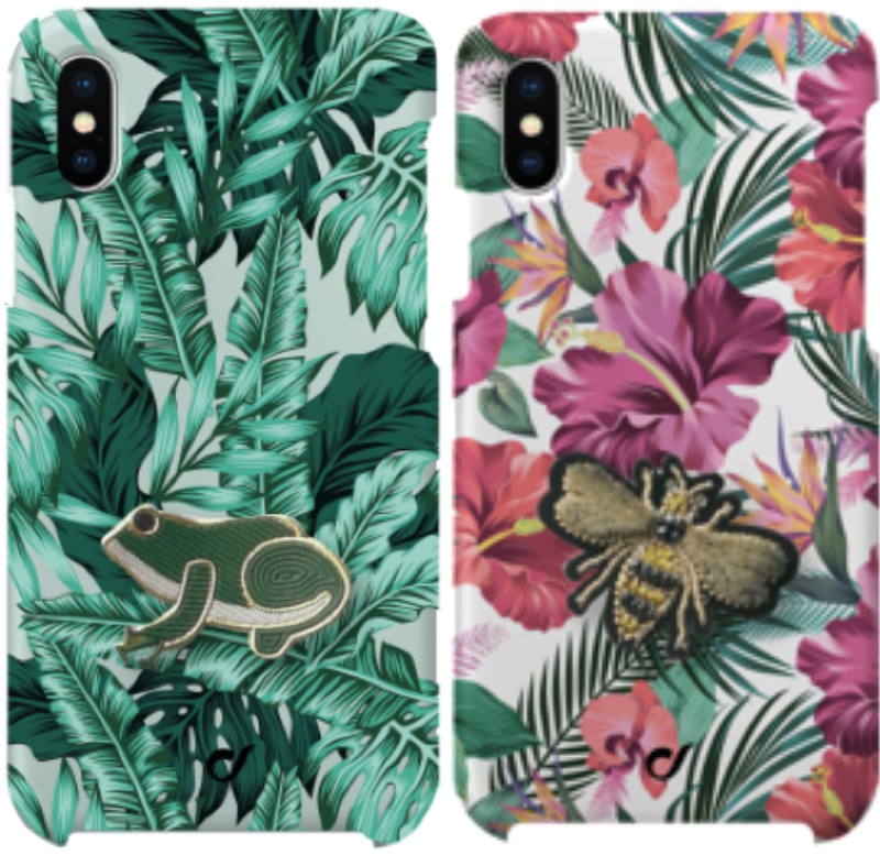 Welcome to the jungle - Beschikbaar voor: iPhone 8/7/6, iPhone XS/S, iPhone XR, Samsung Galaxy en Huawei P20 Lite.  Tropical is the new black - Beschikbaar voor: iPhone XS/S, iPhone XR, iPhone 8/7/6 Adviesprijs: € 19,95